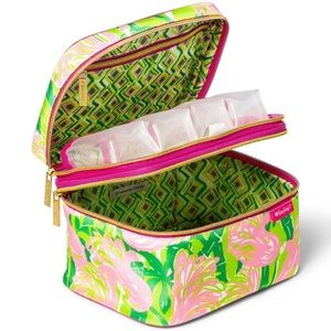 LILLY PULITZER x TARGET • Train Makeup Case Bag